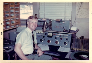 Most places I have worked are no longer in existence. And this is one of them, KWNT Radio. I started my first commercial radio job there as a deejay on my 19th birthday, March 1, 1968. A lot of things have changed, including my weight.