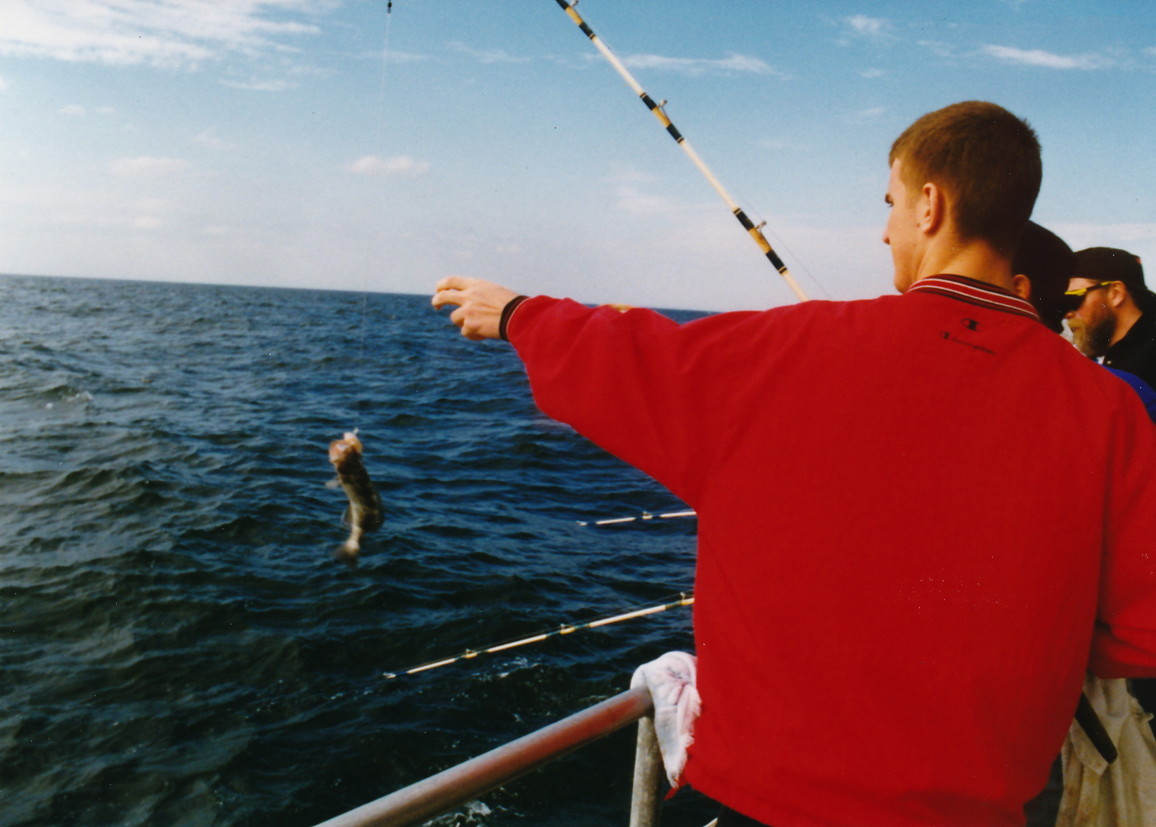 Everyday people column first and last deep sea fishing for Videos of people fishing