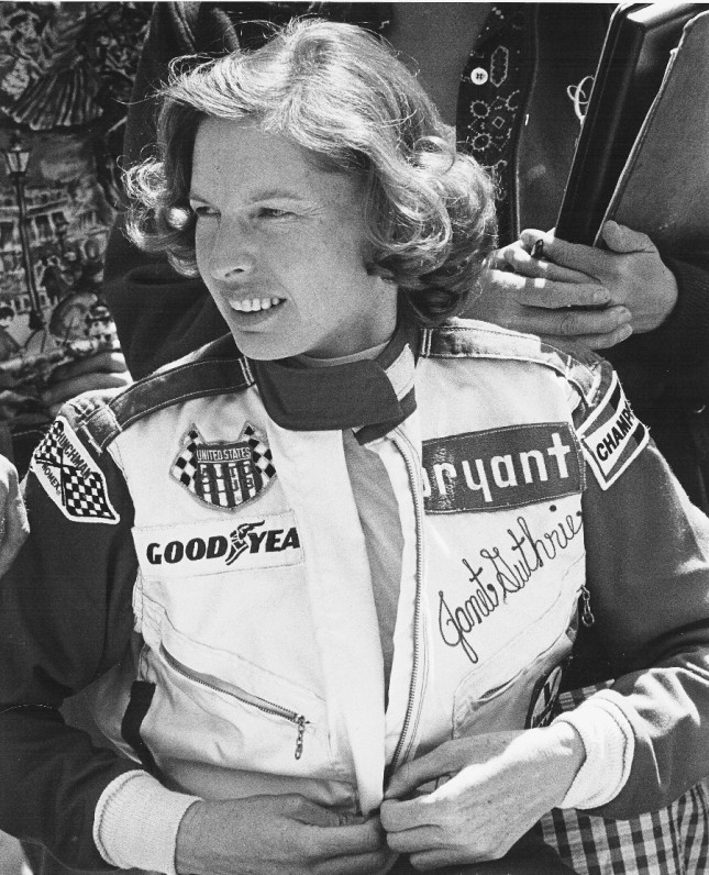 Janet Guthrie (Photo courtesy of Sport Classic Books)