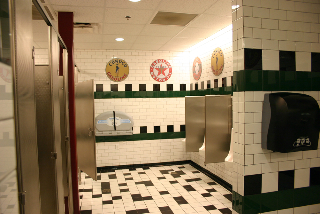 The Iowa 80 restrooms are clean and attractive. (Iowa 80 photo)