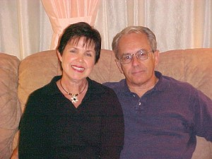 Jeanette and Don Gartner during a 2005 visit to our home. They survived a 7.1 magnitude earthquake near their home on the island of Roatan, located in the Caribbean Ocean north of Honduras.