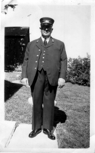 My grandfather the railroad conductor, Ben T. Miller. Photo from the Phil Roberts Collection.