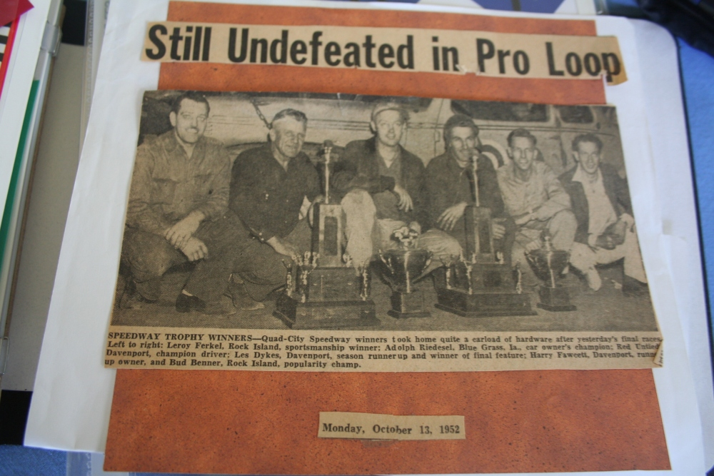 A racing legend remembers the early days of Stock Car racing in the Quad-Cities (4/6)