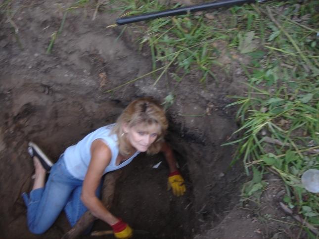 digging 8-18-12