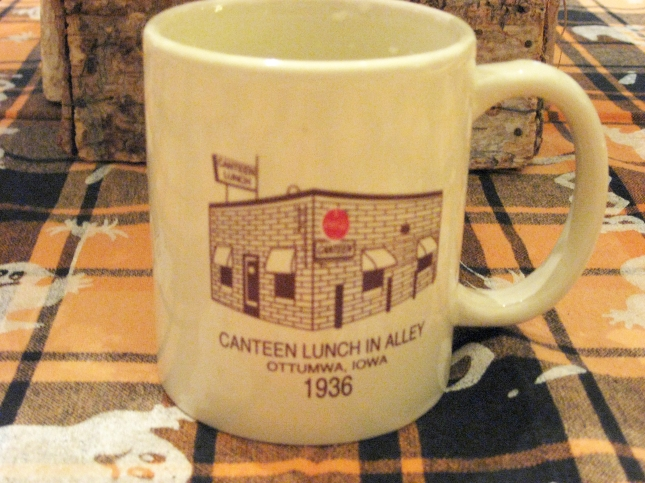 I bought this souvenir coffee mug. Phil Roberts photo.