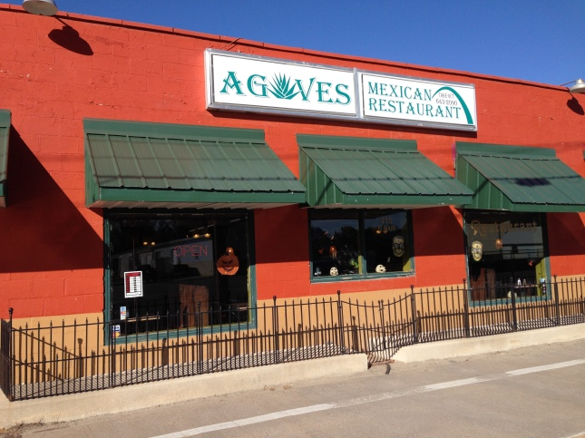 The exterior of Agave Mexican Restaurant. Sherry Roberts photo.