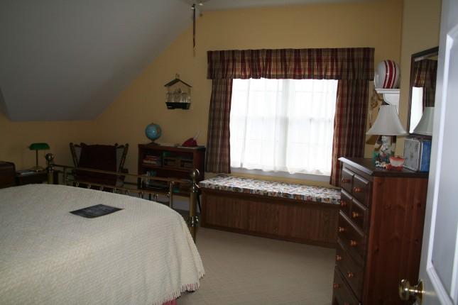Opie's bedroom.