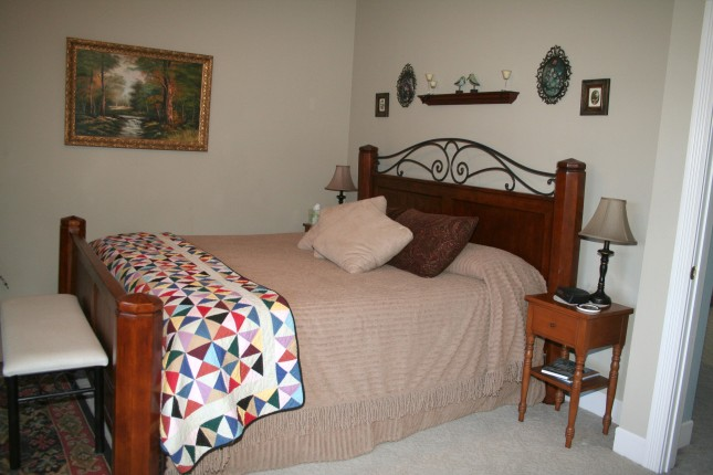 Andy's bedroom.